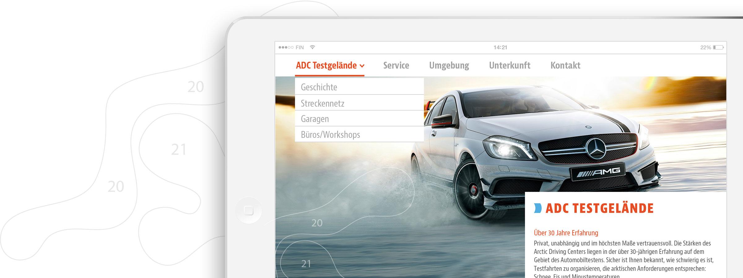 Corporate-Design Website