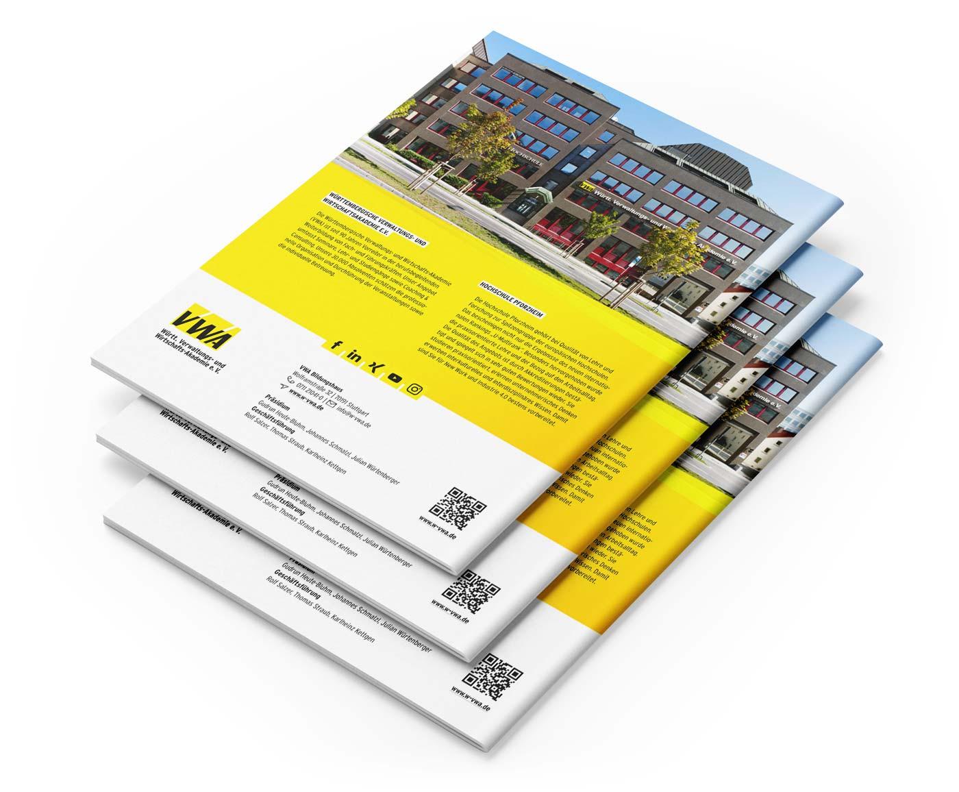 Broschüren Design BÜRO15