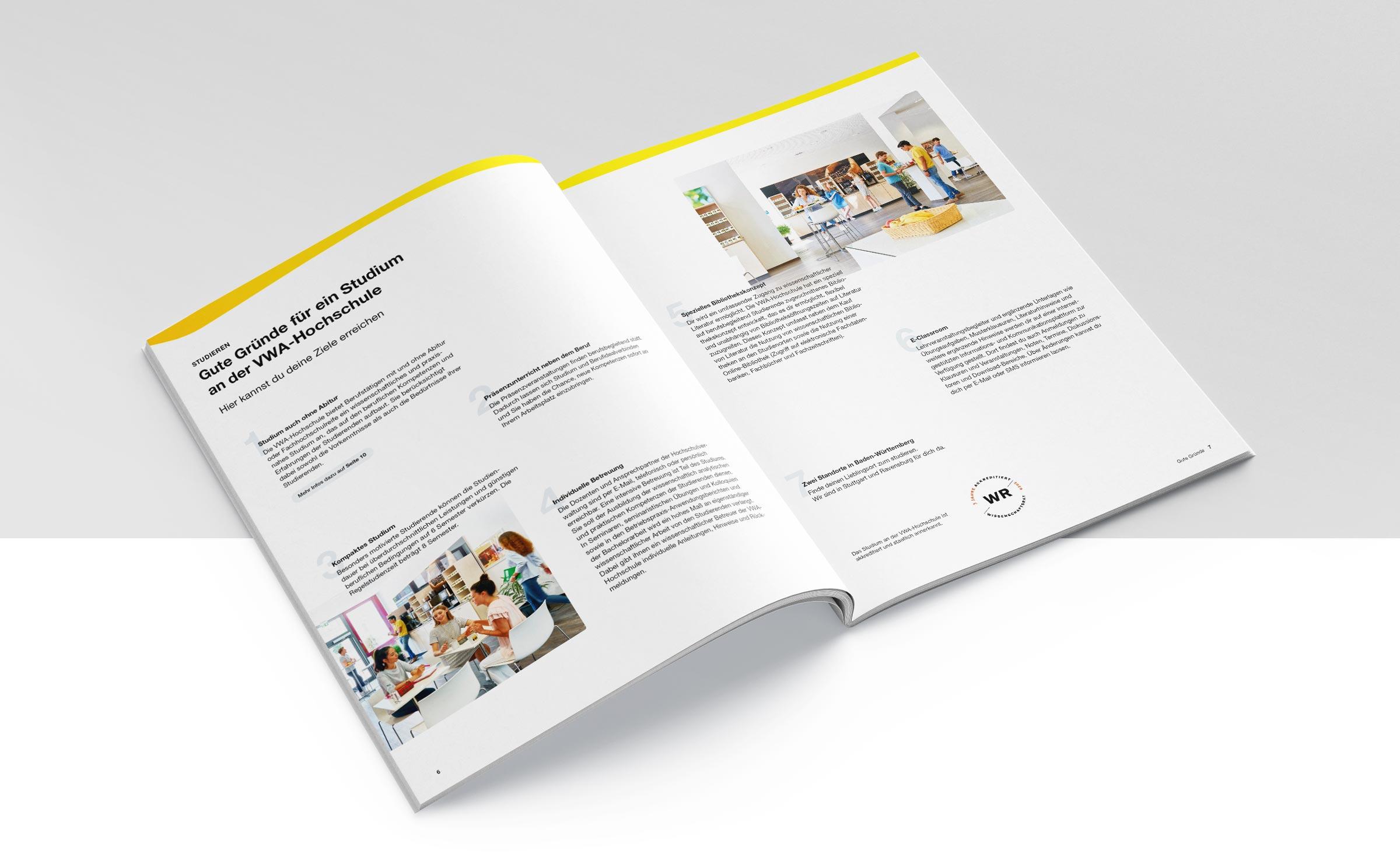 Broschüren Gestaltung Agentur