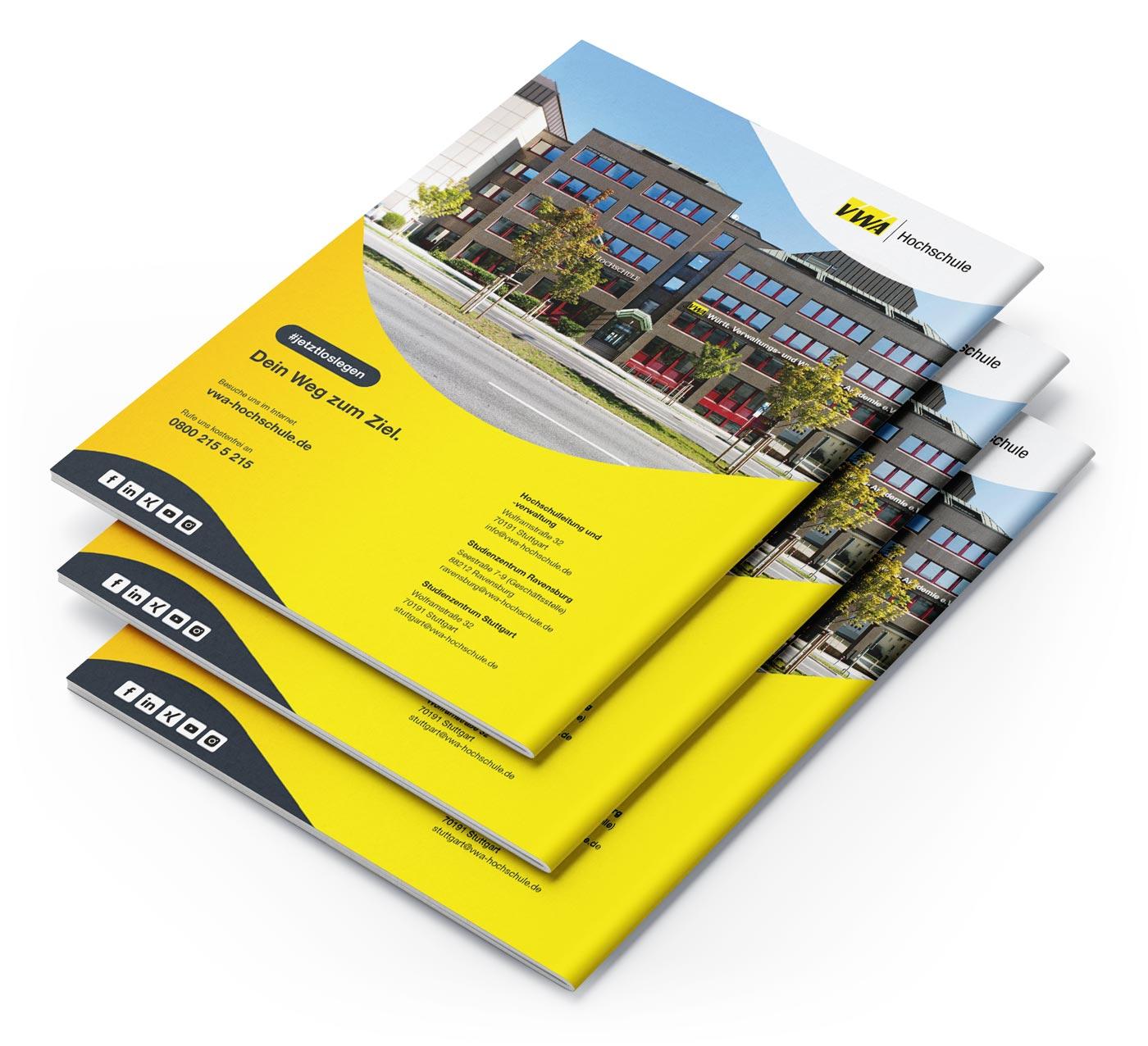 Broschüren Gestaltung Design