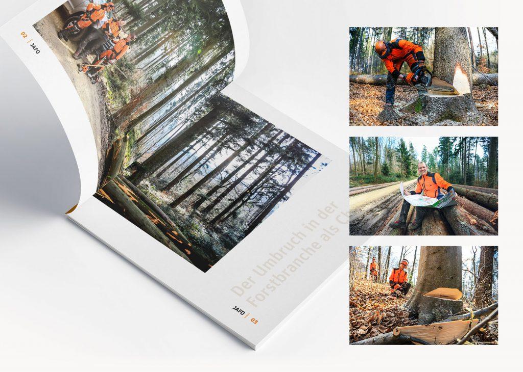 Gestaltung Broschüre Bilder