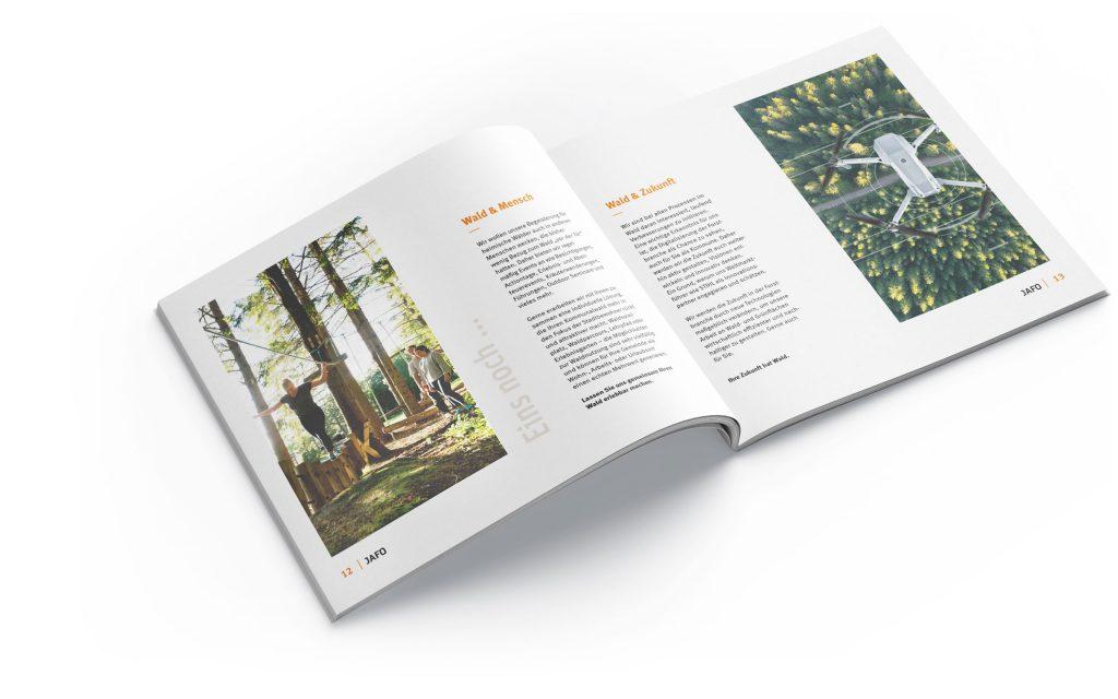 Gestaltung Broschüre Print-Design