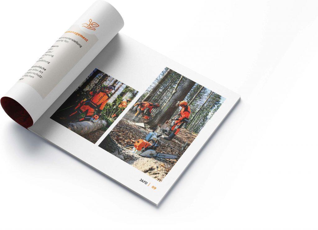 Gestaltung Broschüre Printdesign