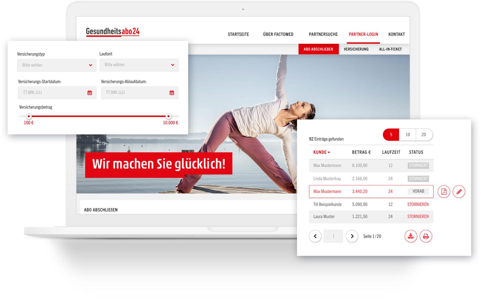 UI-Design Plattform